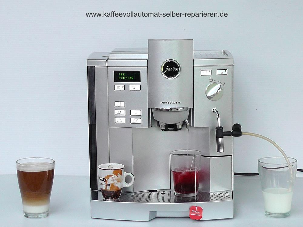 Gebrauchte Jura Impressa S95 S9 kaufen oder verkaufen ~ Kaffeemaschine Jura Impressa